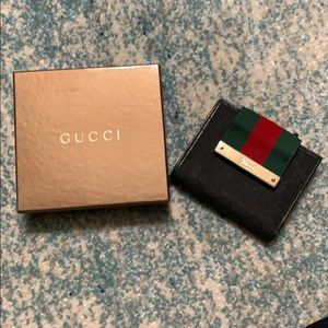 Authentic Classic Gucci Wallet